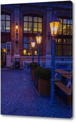 Постер фонари