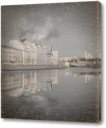 Постер Московская набережная.