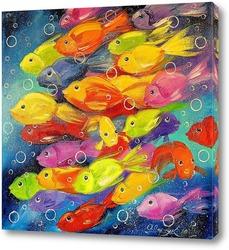 Постер Рыбки