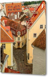 Постер Таллин сверху