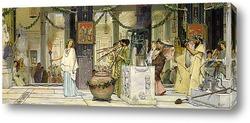 Постер Старинный праздник