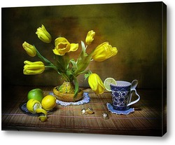 Постер О чем поют весенние тюльпаны?