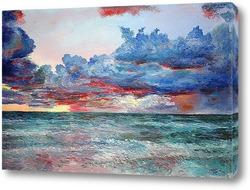 Картина Вечер на океане