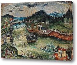 Картина Озеро Рамсель