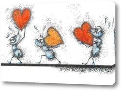 Постер Рабы любви