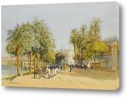 Картина Вилла на берегу Нила