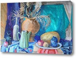 Картина Натюрморт с большой вазой