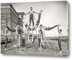 Постер Команда гимнастов «Woodberry Forest», Орэндж, штат Вирджиния, 1910