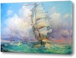Картина Возле берега