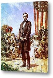 Картина 16-й-Авраам Линкольн_5