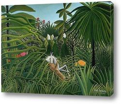 Тропические заросли. 1887