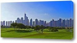 Городской пейзаж в Дубае