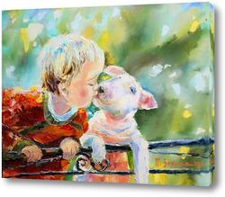 Картина Маленькие друзья