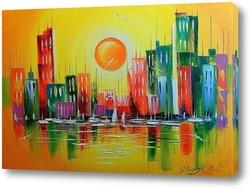 Картина Город мечта