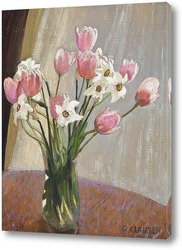 Картина Тюльпаны и нарциссы