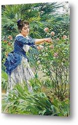 Постер Обрезание роз