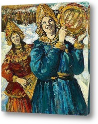 Картина Праздник в Древней Руси. 1910