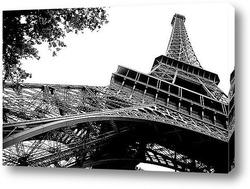 Париж - вид сверху.