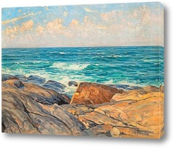Картина Скалы на берегу