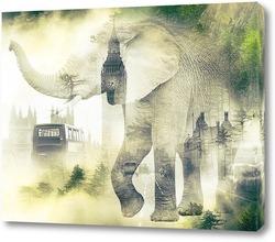 Постер Вестминстерский дворец