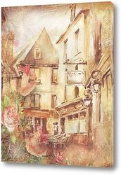 Постер Старинный город