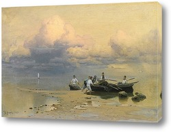 Постер Рыбаки
