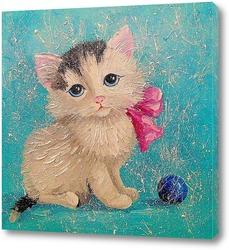 Постер Милый кот