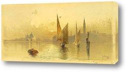 Рыболовное судно, Корфу