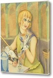 Постер Портрет Лили Эльбе