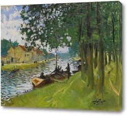 Картина Барж Сен-Мамес