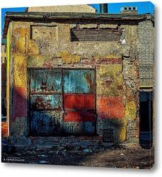 Постер Урбанометрия. Геометрия цвета.