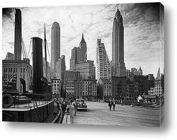 Нью-Йорк,уличная сцена на Пятой Авеню