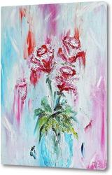 Картина Розы  в вазе