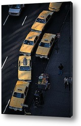 Центральный парк и Манхэттен,1960-е.