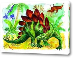 Постер Динозавры