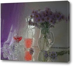 Постер Вечерний дождь