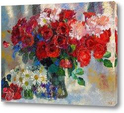 Картина Красные розы, 1933