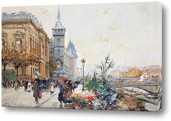 Бульвар де ла Шапель с метромостом