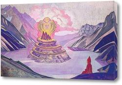 Картина Нагарджуна-Победитель Змея