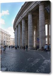 Постер Колоннада на площади Святого Петра