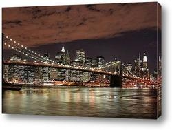 Постер Ночной город