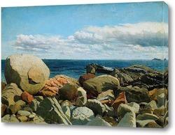 Постер Прибрежные скалы