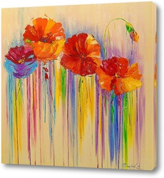 Постер Абстракция цветов