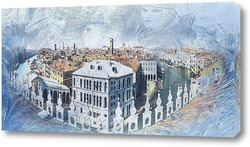 Постер Венецианская панорама