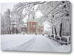 Постер Зима в Царицыно