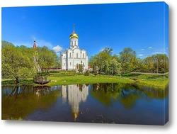 Постер Храм Покрова Пресвятой Богородицы-Крупецкая церковь