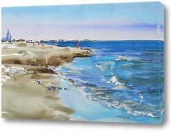 пляж в Лимасоле