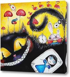 Картина    Алиса в стране чудес
