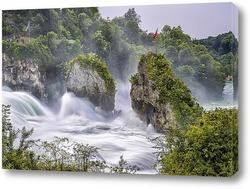 Постер Рейнский водопад