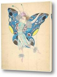 Постер Танцовщица в сказочном костюме